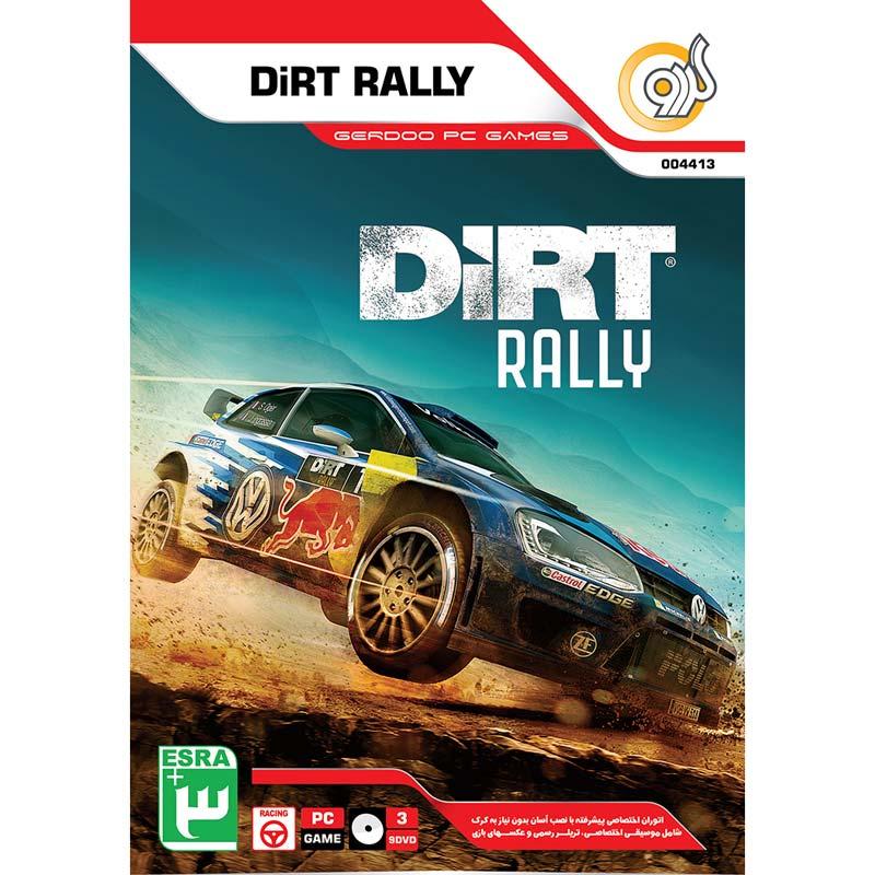Dirt Rally PC 3DVD9 گردو