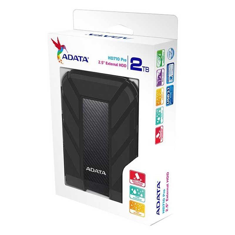 هارد اکسترنال ای دیتا ظرفیت 2 ترابایت مدل HD710 Pro