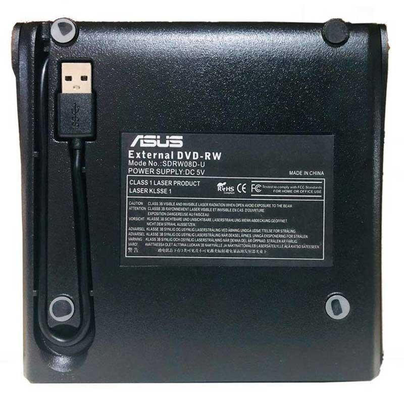 DVD رایتر اکسترنال ایسوس Asus SDRW 08D-U